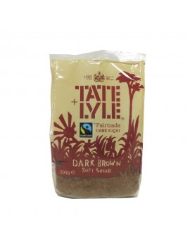 Tate & Lyle Fairtrade Dark Brown Sugar 500g