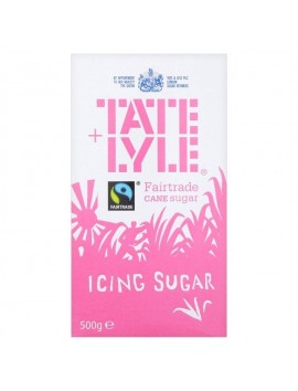 Tate & lyle icing sugar fairtrade 500g