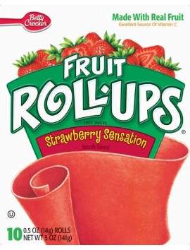 BC Fruit Rool Ups Strawberry 141g