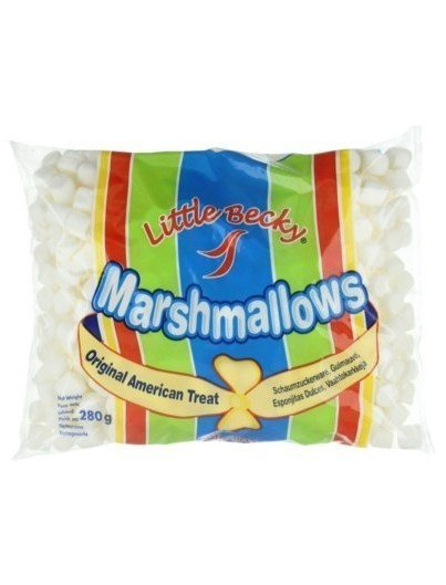 Little Becky Mini Marshmallows Blancos 280 g