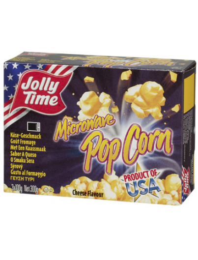 Jolly time microwave pop corn cheese flavour 300g