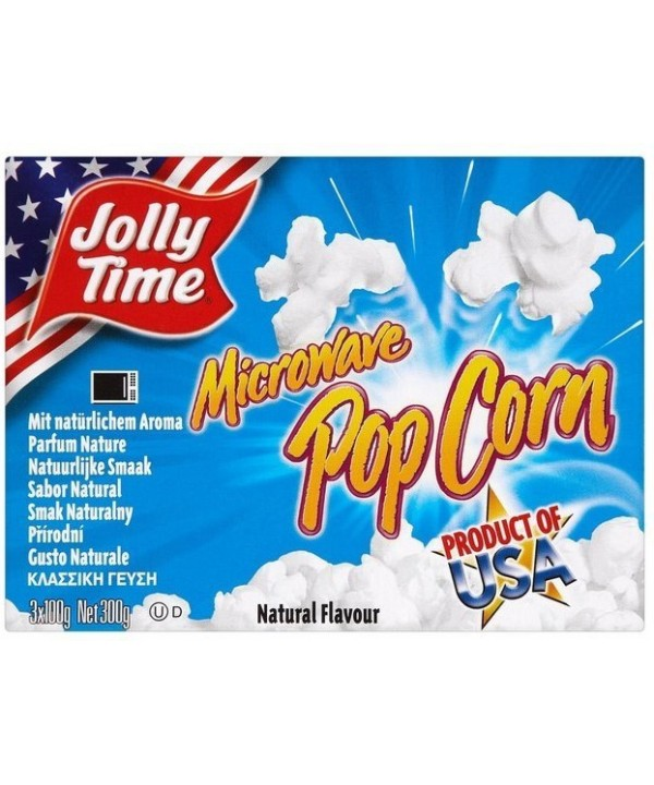Jolly Time microwave pop corn natural 300 g