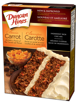 DH Classic carrot cake mix 607 g