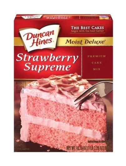 DH Strawberry Cake Mix 517 g