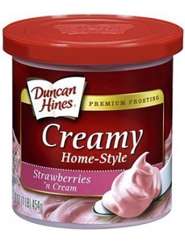 Duncan Hines Frosting Strawberry 453gr