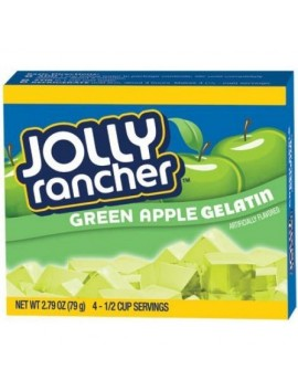 Jolly Rancher gelatin green apple mix 79 g