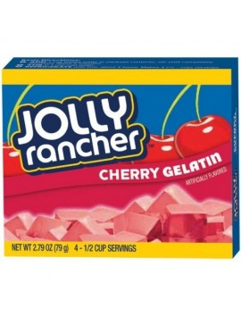 Jolly Rancher gelatin cherry mix 79 g
