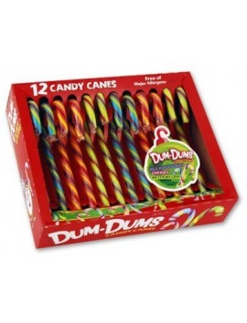 Spangler candy canes DUM-DUMS 12 ud