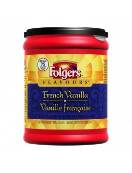 Folgers Café French Vanilla 326 g