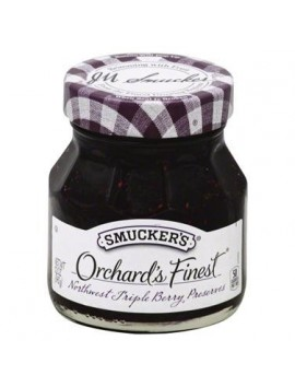 Smucker's orchard's finest preserves triple berry 340g