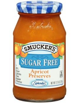 Smucker's sugar free apricot preserve 361g
