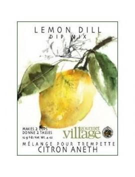 Gourmet Village Lemon dill dip mix