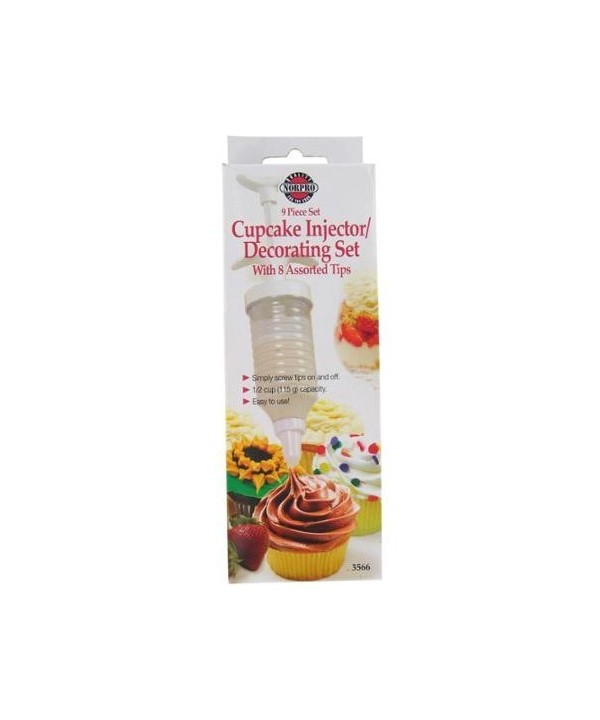 Norpo Cupcake Injector / Decorating Set