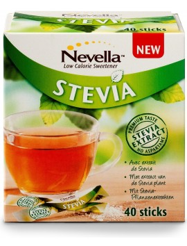 Nevella New Stevia 40 sticks