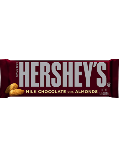 Hershey's Milk Chocolate almond Bar 43g