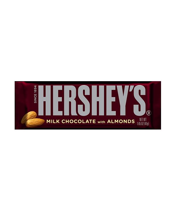 Hershey's Milk Chocolate almond Bar 43g