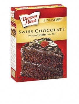 Duncan Hines Swiss Chocolate 468gr