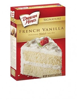 Duncan Hines French Vanilla 468gr