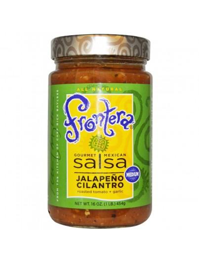 Frontera salsa jalapeño cilantro medium 454g