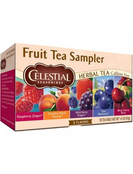 CS 20 bags fruit tea sampler herbal tea 40g
