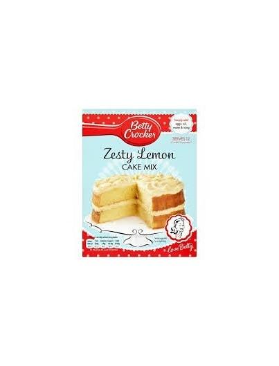 Betty Crocker Lemon Cake Mix 425g