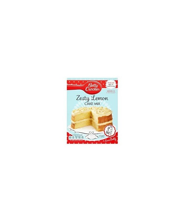 Betty Crocker Lemon Cake Mix 425g