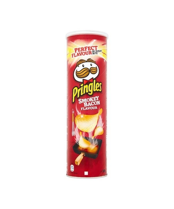 Pringles Smokey Bacon 200 gr