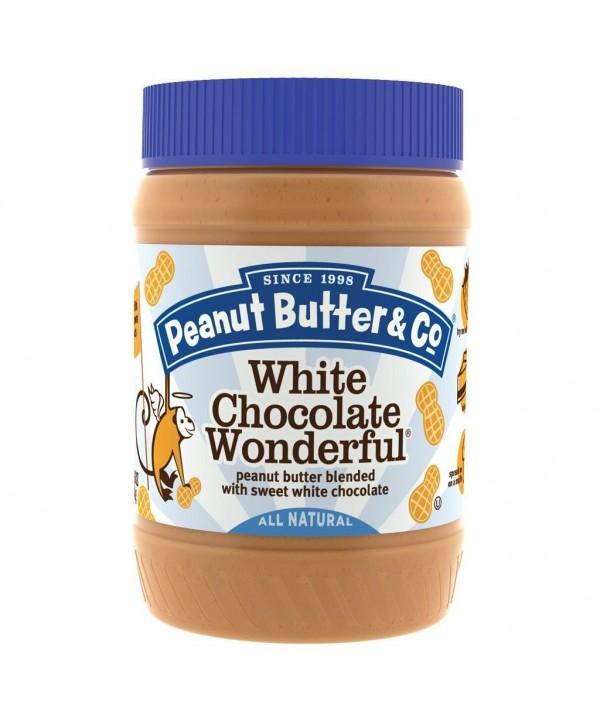 Peanut Butter & white chocolate 454 gr