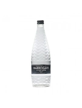 Harrogate Spring Water 750ml Glass Still Flat Cap