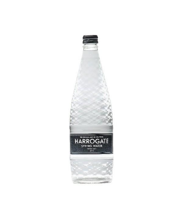 Harrogate Spring Water 750ml Glass Still Flat Cap