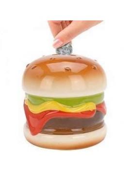 Hucha comida rapida hamburguesa