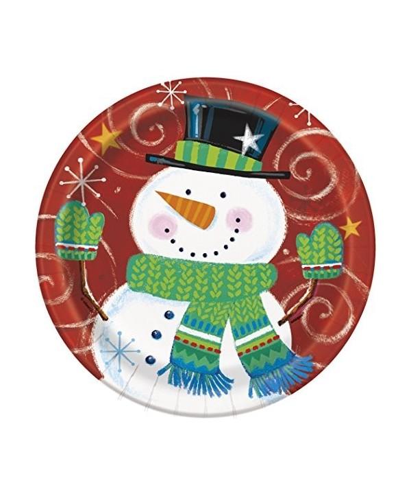 """8 Snowman swirl 7"""" pit"""