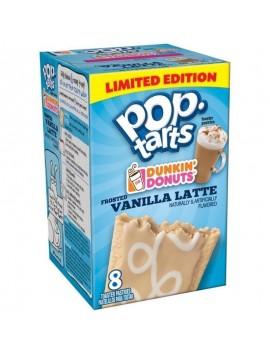 Kellog´s poptarts dunkin donuts vanilla late 399 g