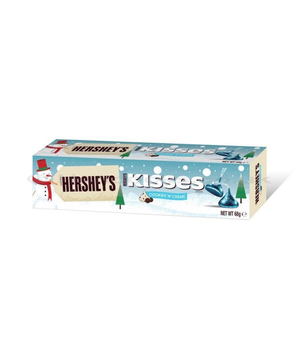 Hershey´s Cookies and Creme Kisses tube 68 g