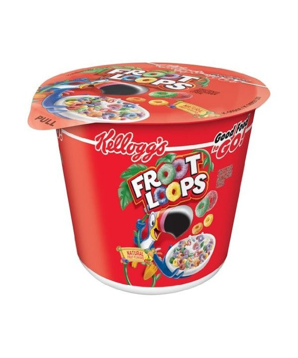Kellogg´s froot loops single serve 42 g