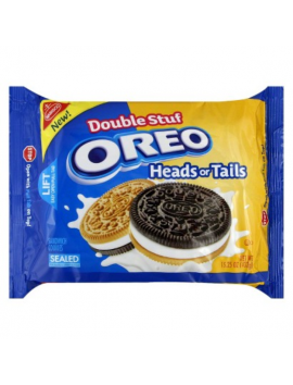 Nabisco Oreo heads or tails double stuf 432 g