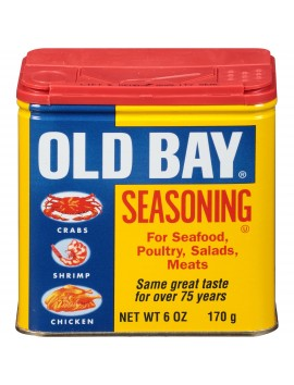 Old bay seasoning for seafood poultry,salad meats 170 g