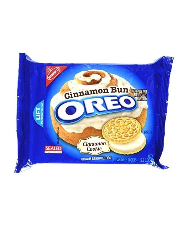 Nabisco Oreo Cinnamon Bun 345g