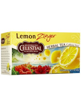 CS 20 bags herb tea lemon zinger