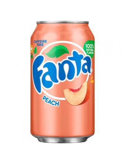 Fanta peach 355 ml