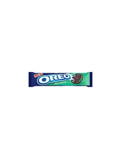 Nabisco Oreo Mint Sandwich Biscuits 154g