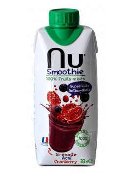 NU Pomegranate Acai Cranberry Smoothie 330 ml