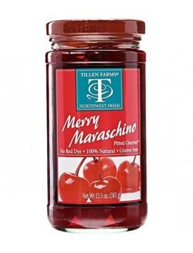 Tillen Farms Merry Maraschino cherries 383 g