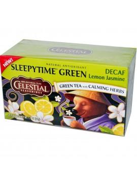 CS 20 bags Sleepytime decaf lemon jasmine green