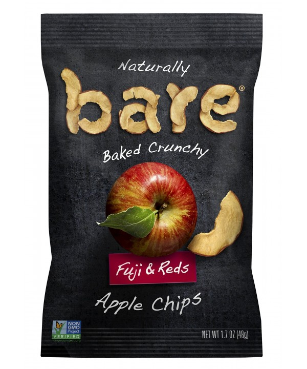 Bare snack fuji & reds apple chips 15 g