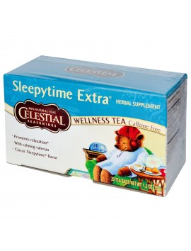 CS 20 bags sleepytime extra wellness tea 35 g
