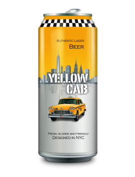 Cerveza Yellow cab lata 0.500 ml