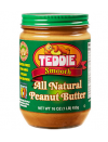 Teddie Smooth All Natural Peanut Butter 453 gr.