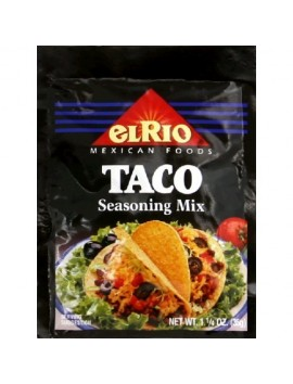 El Rio taco seasoning mix 35 g