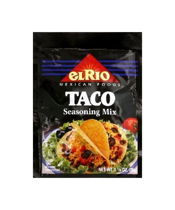 El Rio taco seasoning mix 35 g